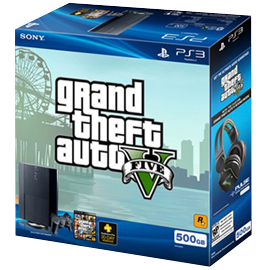 PlayStation®3 Grand Theft Auto V™ Bundle