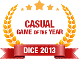 Dice 2013 - Casual Game of  the Year