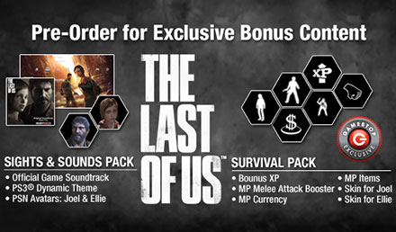 THE LAST OF US: Pre-Order for Survival!