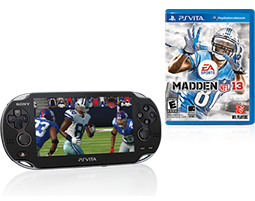 PlayStation®Vita Madden NFL 13 Bundle
