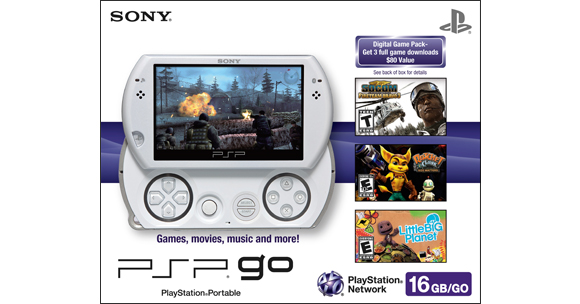 PSP®go Digital Game Pack