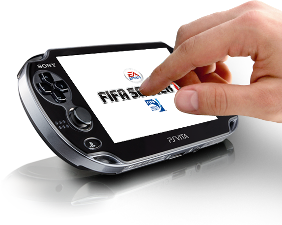 PlayStationVita Touchscreen