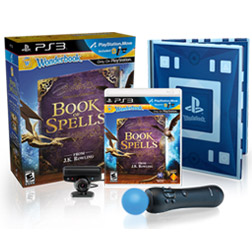 The Wonderbook:Book of Spells Move Bundle